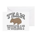 Team Wombat Greeting Card