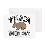 Team Wombat Greeting Cards (Pk of 10)