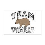 Team Wombat Poster - Mini