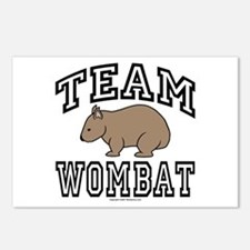 Team Wombat Post Cards (Package of 8)