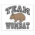 Team Wombat Poster - Small