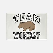 Team Wombat Refrigerator Magnet