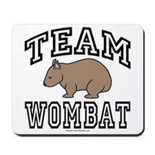Team Wombat Mouse Pad