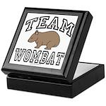 Team Wombat Keepsake Box