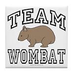 Team Wombat Coaster Tile