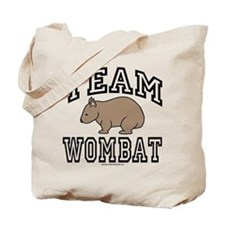 Team Wombat Tote Bag