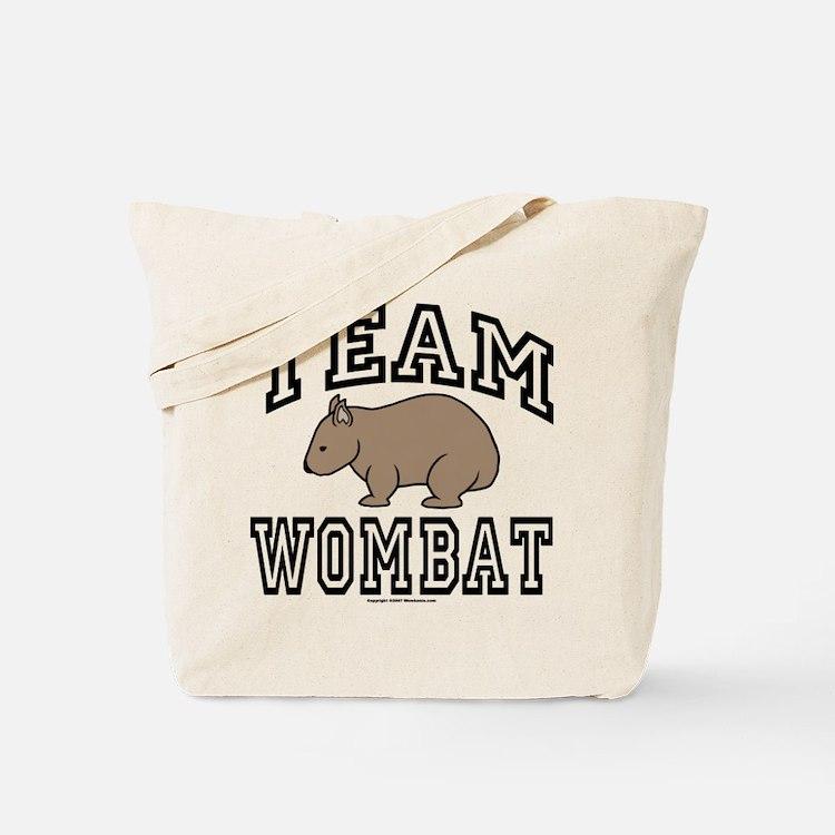 Team Wombat Tote Bag