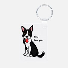 Border Collie -yes, i herd Keychains