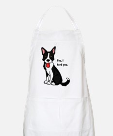 Border Collie -yes, i herd you Apron