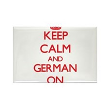 Keep Calm and German ON Magnets