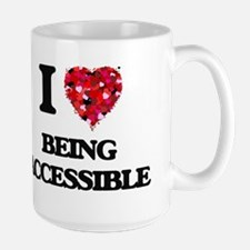 I Love Being Accessible Mugs