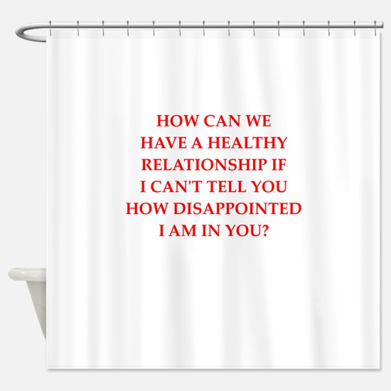 dating Shower Curtain