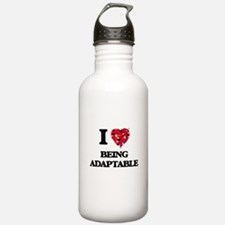 I Love Being Adaptable Water Bottle