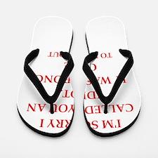 idiot Flip Flops