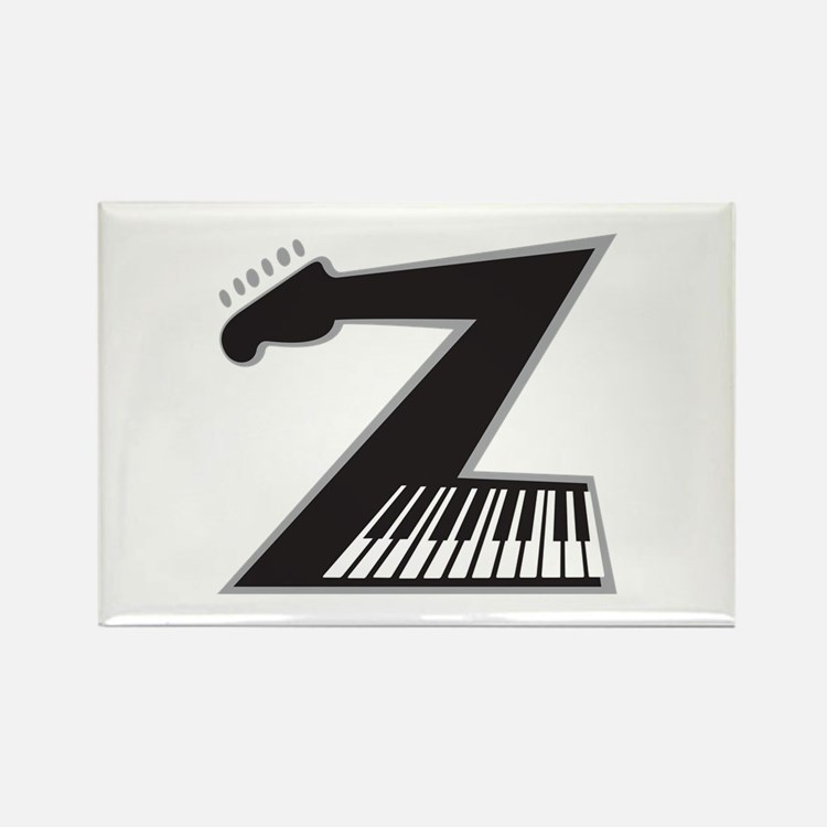 Z Guitar Piano Magnets