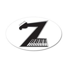 Z Guitar Piano Wall Decal