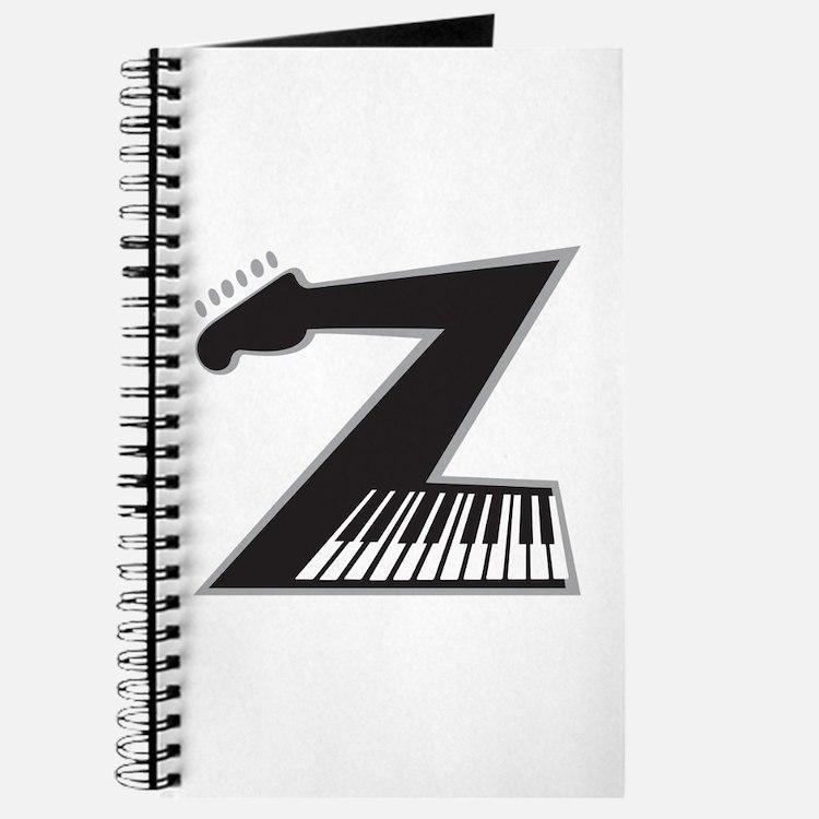 Z Guitar Piano Journal