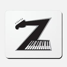 Z Guitar Piano Mousepad