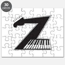 Z Guitar Piano Puzzle