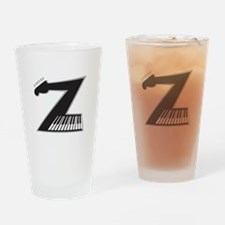 Z Guitar Piano Drinking Glass