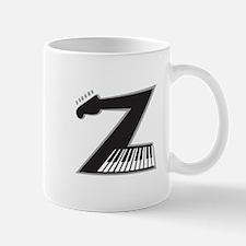 Z Guitar Piano Mugs