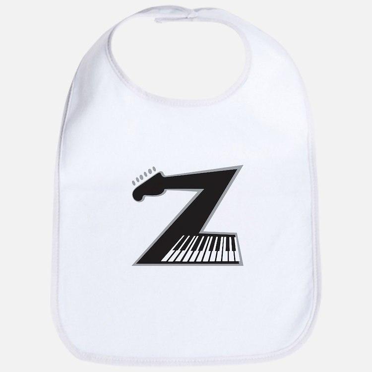 Z Guitar Piano Bib