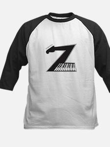 Z Guitar Piano Baseball Jersey