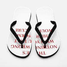 wrong Flip Flops