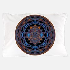 Lakshmi Yantra Mandala- Lapis Pillow Case