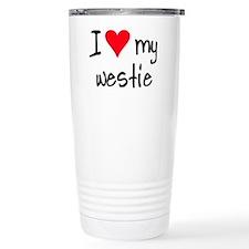 Unique West highland white terrier Travel Mug