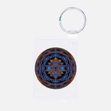 Lakshmi Yantra Mandala- Lapis Keychains