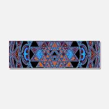 Lakshmi Yantra Mandala- Lapis Car Magnet 10 x 3