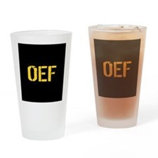 Operation Enduring Freedom Drinking Glass