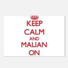 Keep Calm and Malian ON Postcards (Package of 8)