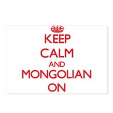 Keep Calm and Mongolian O Postcards (Package of 8)