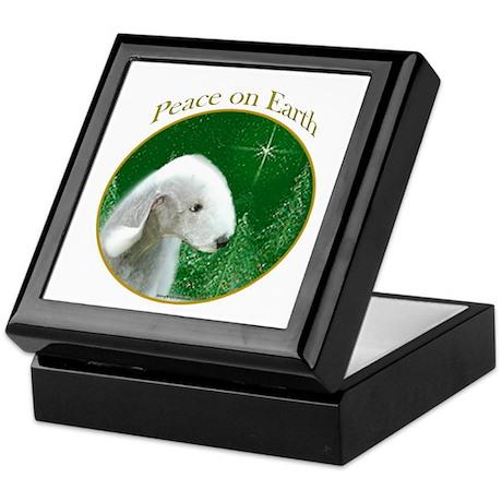 Bedlington Peace Keepsake Box