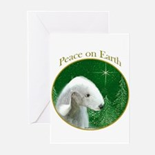 Bedlington Peace Greeting Cards (Pk of 20)