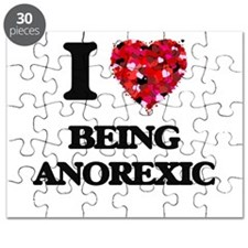 I Love Being Anorexic Puzzle