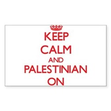 Keep Calm and Palestinian ON Decal
