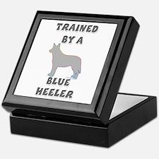Blue Heeler Slvr Keepsake Box