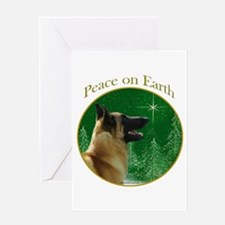 Malinois Peace Greeting Card