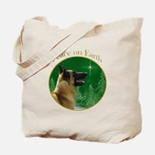 Malinois Peace Tote Bag