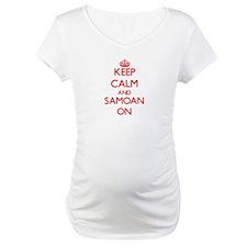 Keep Calm and Samoan ON Shirt