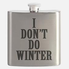 I Don't Do Winter Flask