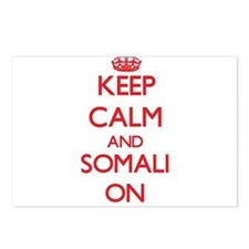 Keep Calm and Somali ON Postcards (Package of 8)