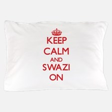Keep Calm and Swazi ON Pillow Case