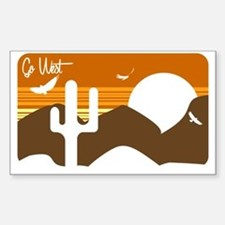 Go West Decal