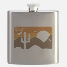Go West Flask
