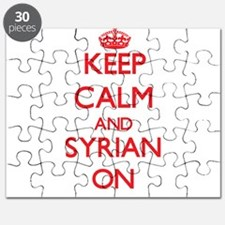 Keep Calm and Syrian ON Puzzle