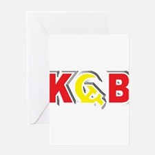 KGB Soviet Secret Police USSR Russi Greeting Cards